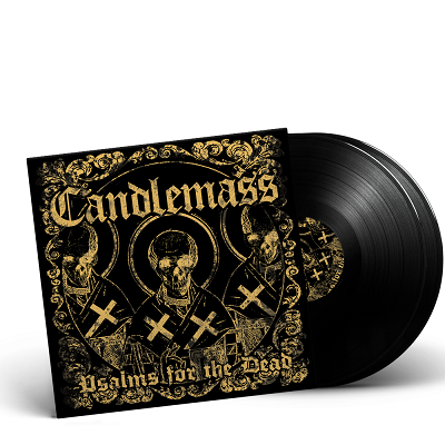 CANDLEMASS-Psalms For The Dead/Limited Edition BLACK Vinyl Gatefold 2LP