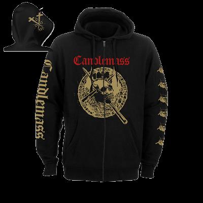 CANDLEMASS-The Door To Doom/Zip Hoodie