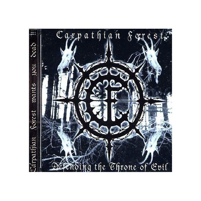 CARPATHIAN FOREST - Defending The Throne Of Evil / CD