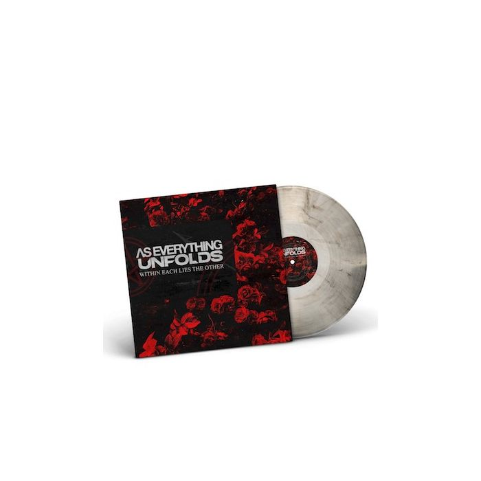 AS EVERYTHING UNFOLDS - Within Each Lies The Other / NAPALM RECORDS EXCLUSIVE BLACK CLEAR MARBLE LP PRE-ORDER RELEASE DATE 12/10/21