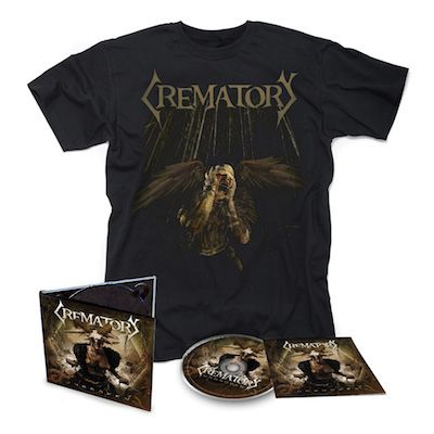 CREMATORY - Unbroken / Digipak CD + T-Shirt Bundle
