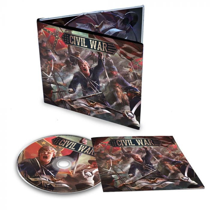CIVIL WAR-The Last Full Measure/Limited Edition Digipack CD