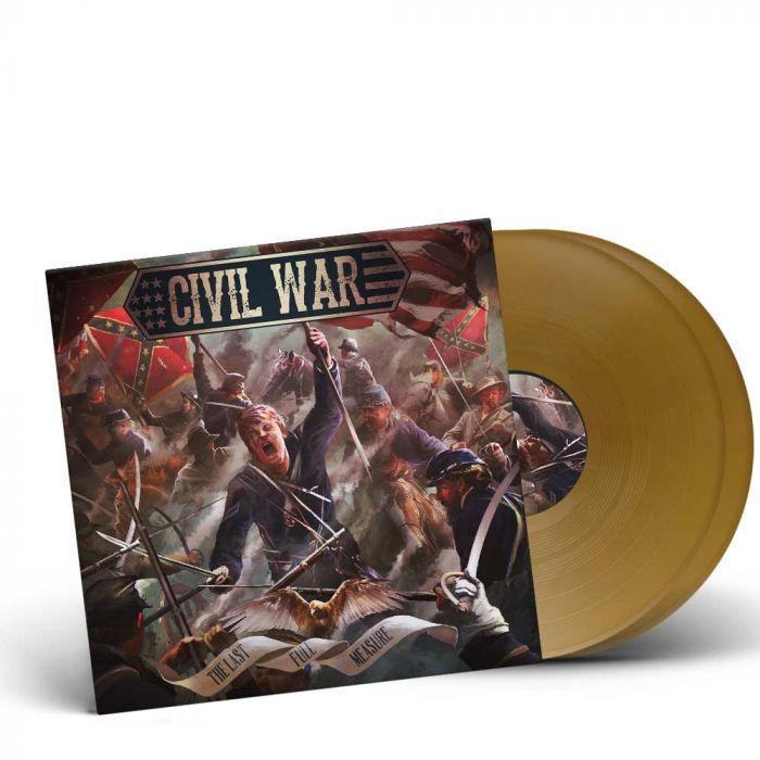 CIVIL WAR-The Last Full Measure/Limited Edition GOLDEN Gatefold 2LP