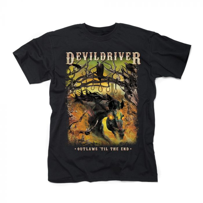 DEVILDRIVER-Outlaws 'Til The End Vol. I/T-Shirt