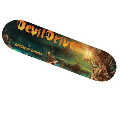 DEVILDRIVER - Dealing With Demons I / LIMITED EDITION Skateboard
