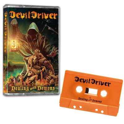 DEVILDRIVER - Dealing With Demons I / LIMITED EDITION ORANGE CASSETTE