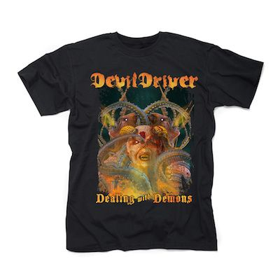 DEVILDRIVER - The Damned Don't Cry / T-Shirt