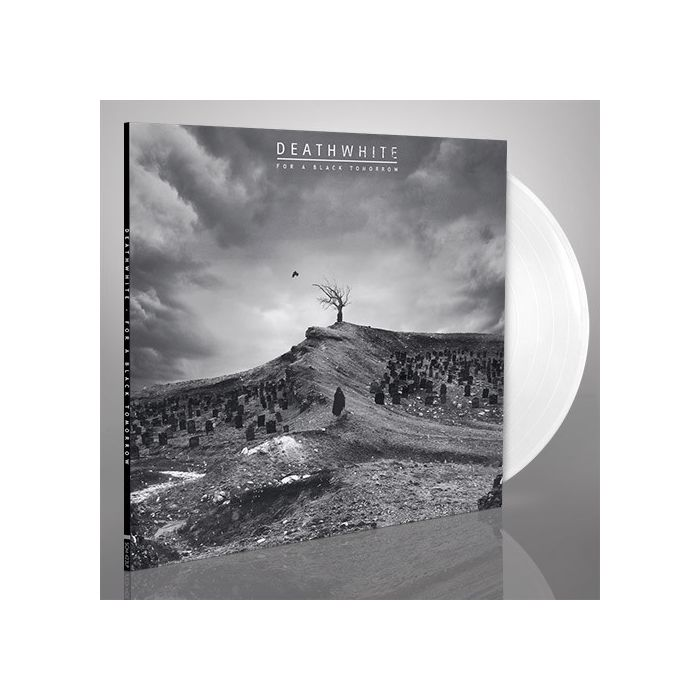 DEATHWHITE - For A Black Tomorrow / White LP