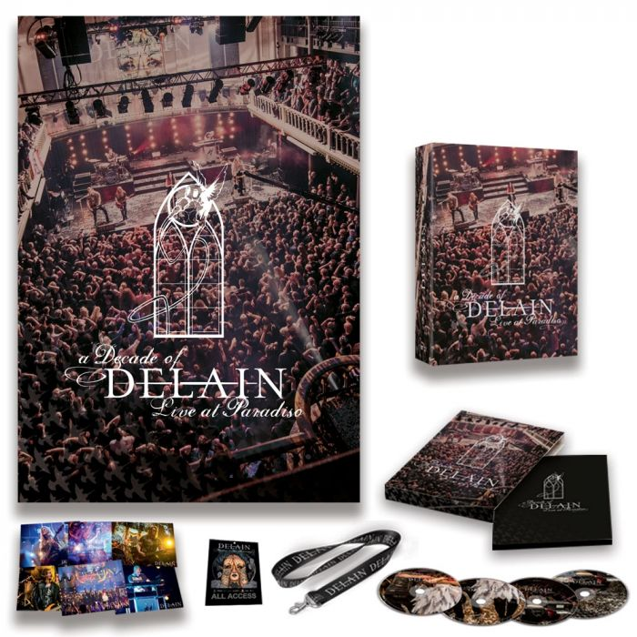 DELAIN-A Decade of Delain - Live At The Paradiso/Limited Edition Deluxe BOXSET