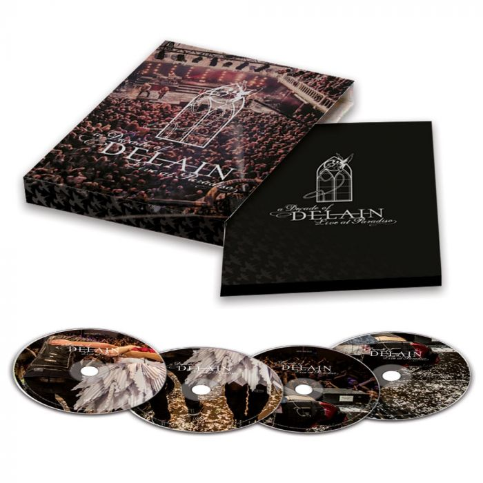 DELAIN-A Decade of Delain - Live At The Paradiso/Limited Edition 2CD & BLU RAY & DVD
