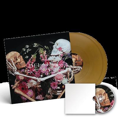 DELAIN-Hunter's Moon/Limited Edition GOLD Vinyl Gatefold 2LP + Blu-Ray
