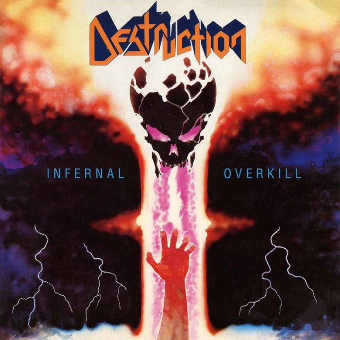 DESTRUCTION - Infernal Overkill / IMPORT Yellow LP