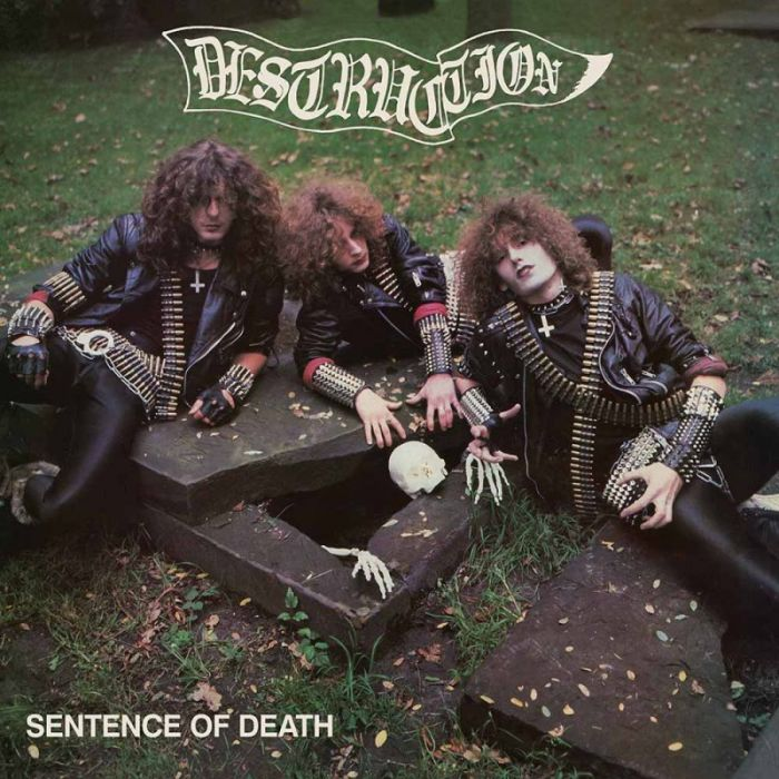 DESTRUCTION - Sentence Of Death / IMPORT Green LP