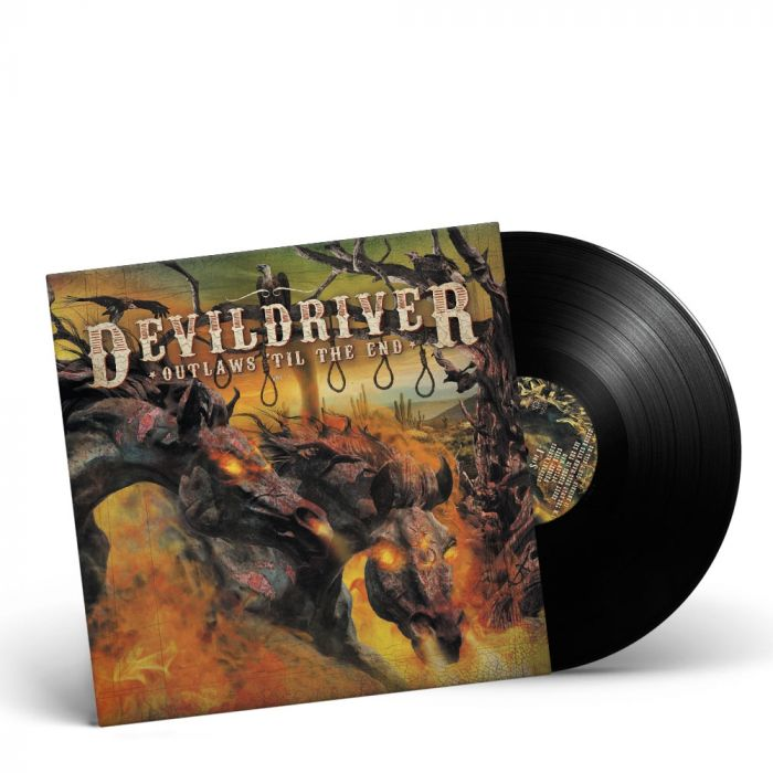 DEVILDRIVER-Outlaws 'Til The End Vol. I/Limited Edition BLACK Vinyl Gatefold LP