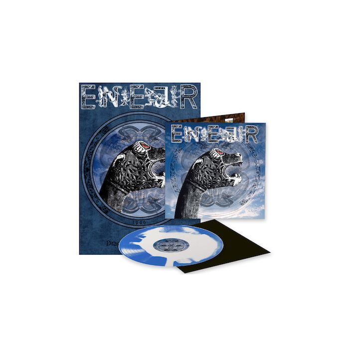 EINHERJER - Dragons Of The North / LIMITED EDITION BLUE WHITE INKSPOT LP