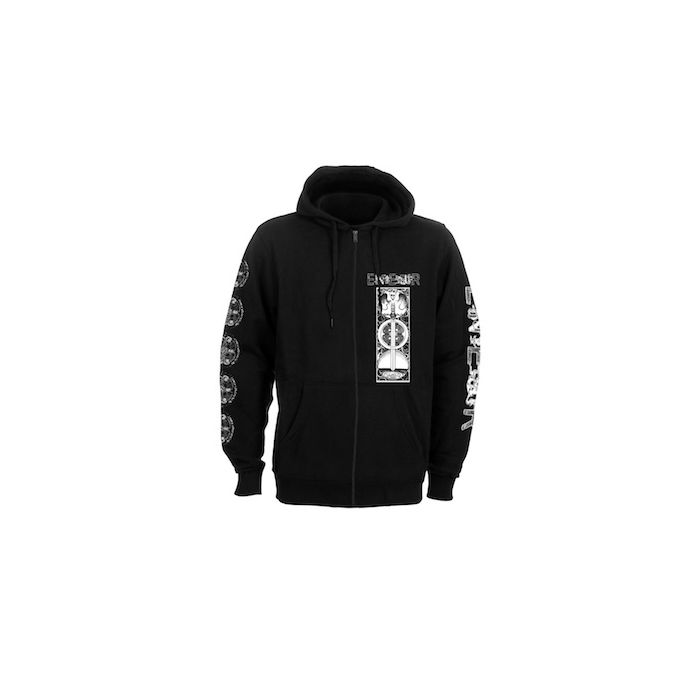 EINHERJER - Dragons Of The North / Zip Hoodie