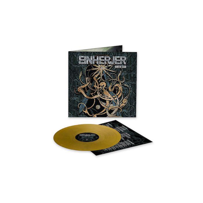 EINHERJER - North Star / LIMITED EDITION GOLD LP