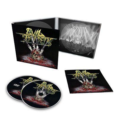 EVIL INVADERS-Surge Of Insanity: Live In Antwerp 2018/CD + DVD Digipack