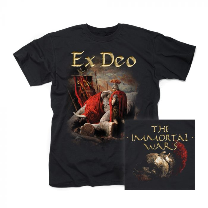 EX DEO-The Immortal Wars (cover design)/T-Shirt