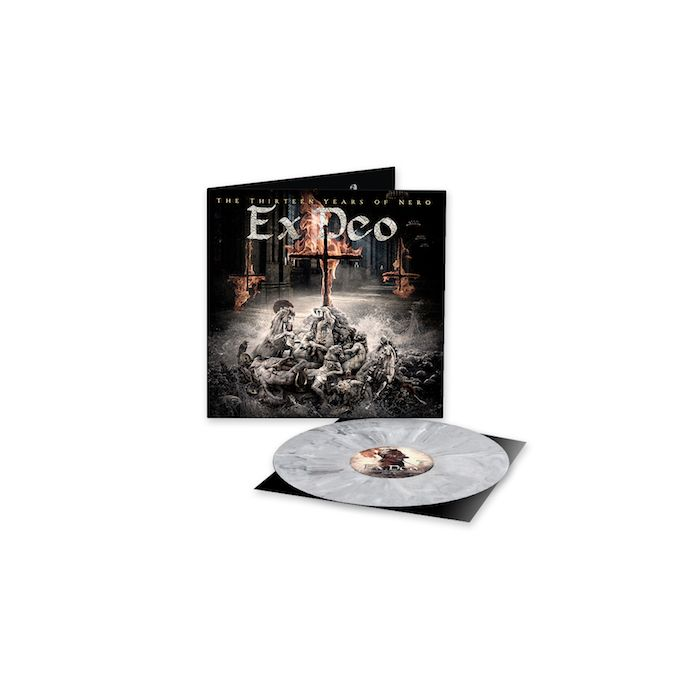 EX DEO - The Thirteen Years Of Nero / LIMITED EDITION WHITE BLACK MARBLED LP