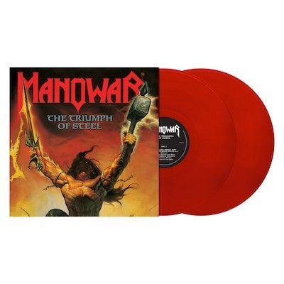 MANOWAR - Triumph Of Steel / Red 2LP