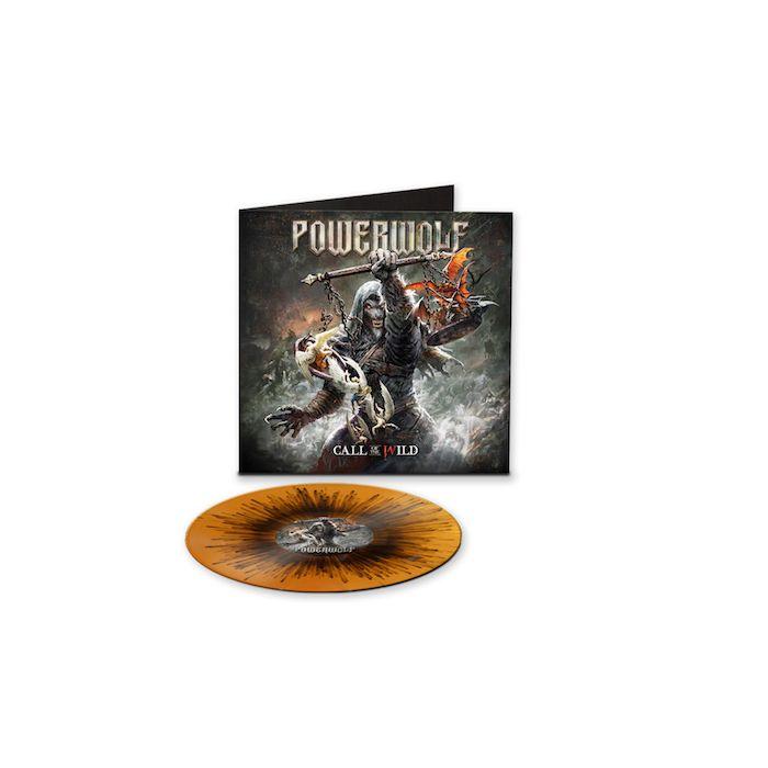 POWERWOLF - Call Of The Wild / LIMITED EDITION ORANGE BLACK SPLATTER LP