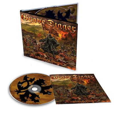 GRAVE DIGGER - Fields Of Blood / Digipak CD