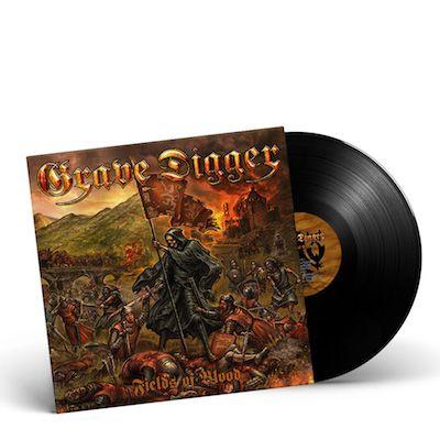 GRAVE DIGGER - Fields Of Blood / BLACK Gatefold LP