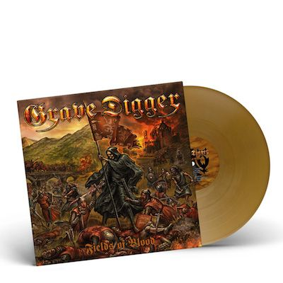 GRAVE DIGGER - Fields Of Blood / Limited Edition GOLD Gatefold LP