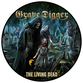 GRAVE DIGGER-The Living Dead/Patch