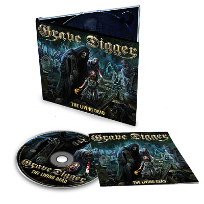 GRAVE DIGGER-The Living Dead/Limited Edition Digipack CD