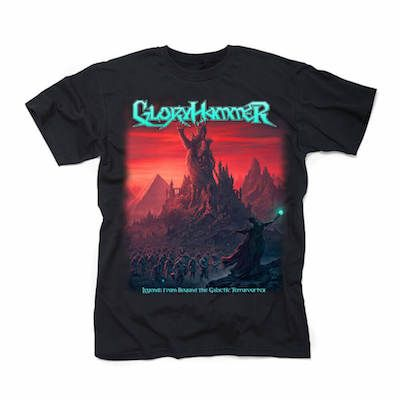 GLORYHAMMER – Legends from Beyond the Galactic Terrorvortex / T-Shirt