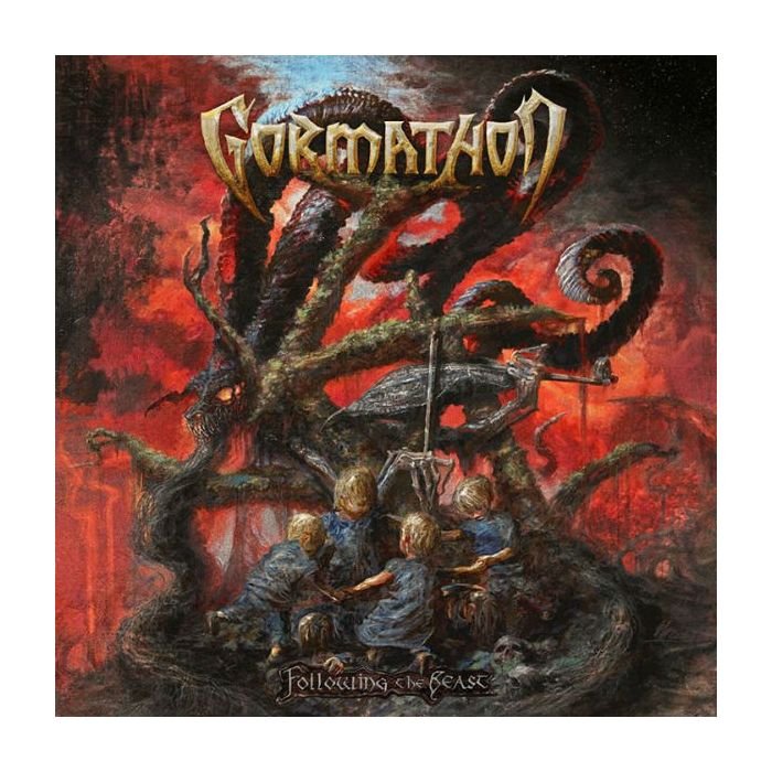 GORMATHON - Following the Beast/Digipack Limited Edition CD