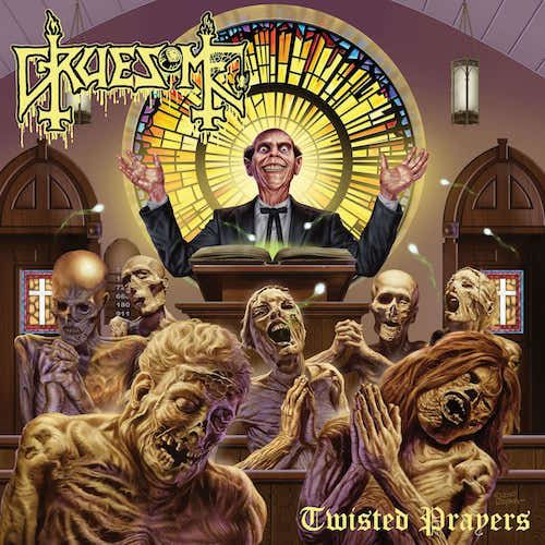 GRUESOME - Twisted Prayers / Yellow LP