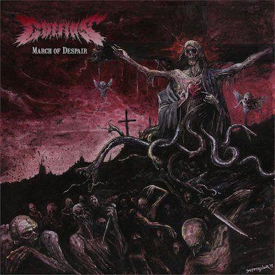 COFFINS - March Of Despair / Picture LP