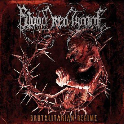 BLOOD RED THRONE - Brutalitarian Regime / Splatter LP