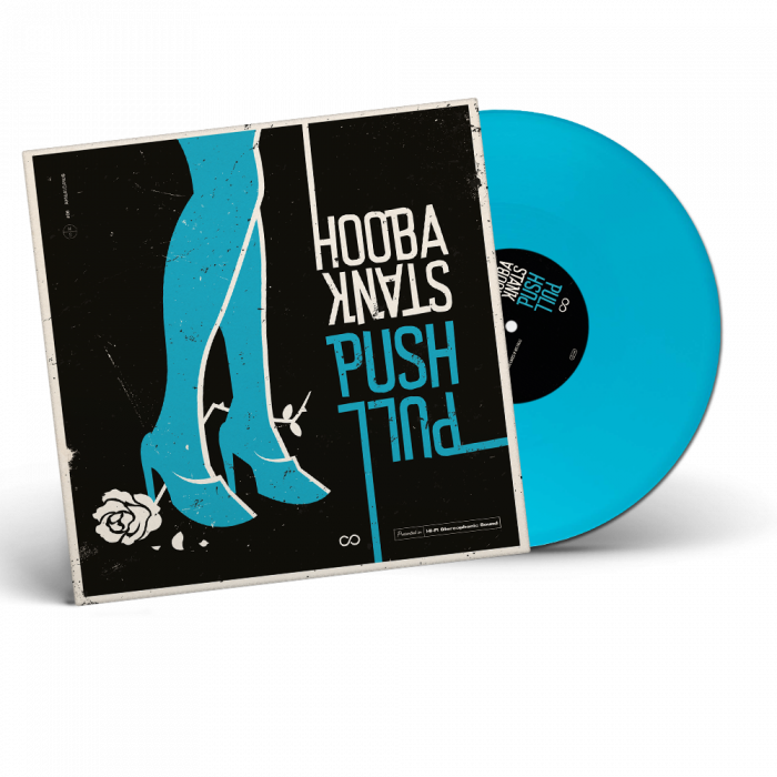 HOOBASTANK-Push Pull/Limited Edition Light Blue Vinyl Gatefold LP