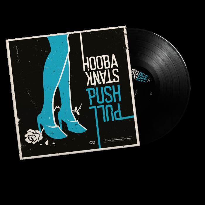 HOOBASTANK-Push Pull/Limited Edition BLACK Vinyl Gatefold LP