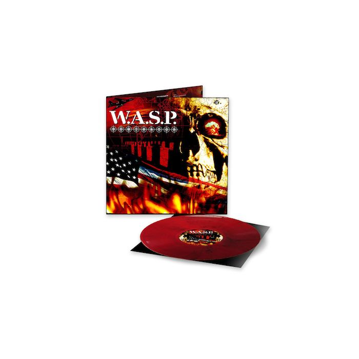 W.A.S.P. - Dominator / LIMITED EDITION MARBLED MARBLED BLACK/RED LP