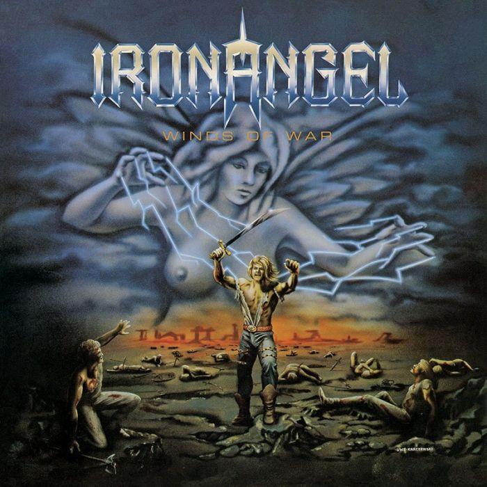 IRON ANGEL - Winds of War / IMPORT Blue LP