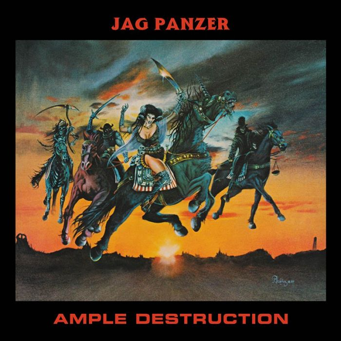 JAG PANZER - Ample Destruction / IMPORT Clear LP