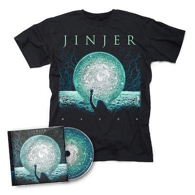 JINJER - Macro / CD + Macro T-Shirt Bundle