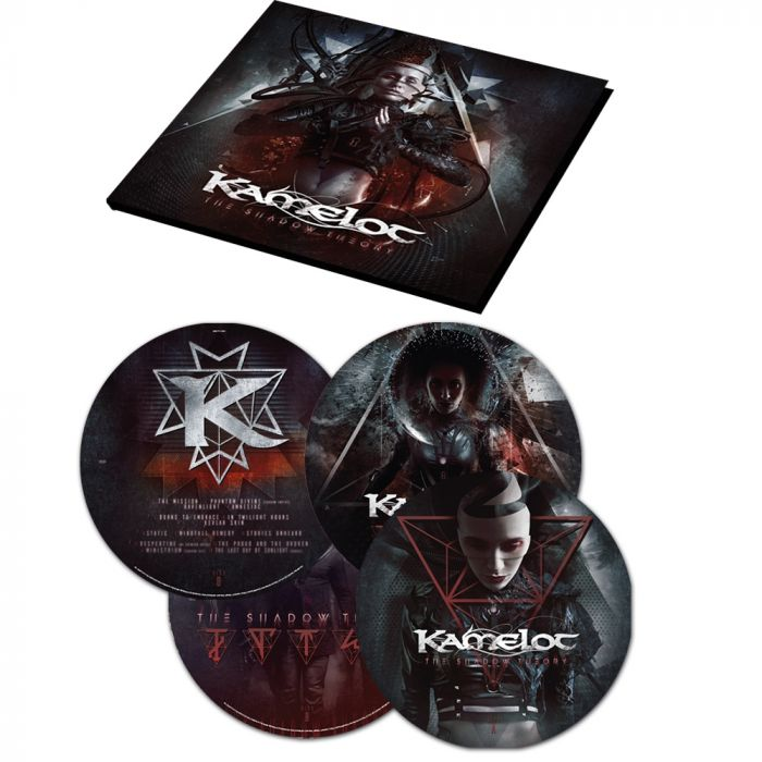 KAMELOT-The Shadow Theory/Limited Edition PICTURE DISC Vinyl Gatefold 2LP