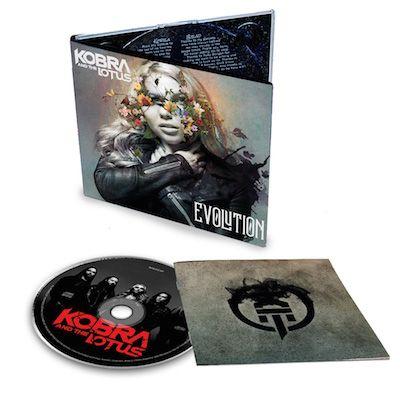 KOBRA AND THE LOTUS - Evolution / Digipak CD
