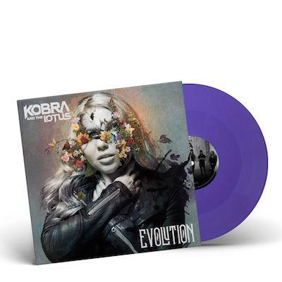 KOBRA AND THE LOTUS - Evolution / PURPLE LP Gatefold