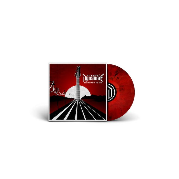 KISSIN' DYNAMITE - Not The End Of The Road / LIMITED DIEHARD EDITION BLACK RED MARBLE LP WITH SLIPMAT PRE-ORDER RELEASE DATE 1/21/22