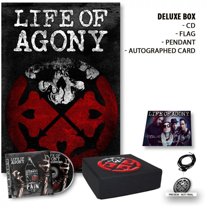 LIFE OF AGONY-A Place Where There's No More Pain/Limited Edition Deluxe Boxset