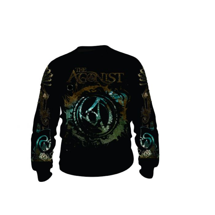 THE AGONIST-Logo/Longsleeve T-Shirt