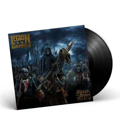 LEGION OF THE DAMNED-Slaves Of The Shadow Realm/Limited Edition BLACK Vinyl Gatefold LP