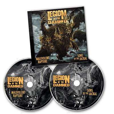 LEGION OF THE DAMNED-Malevolent Rapture/Sons Of The Jackal/2CD
